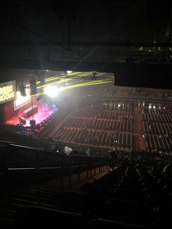 The Forum, section: 227, row: 22, seat: 2