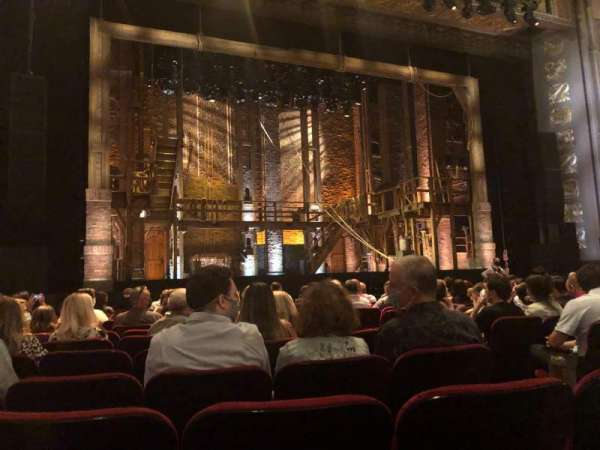 Hollywood Pantages Theatre, section: Orchestra LC, row: M, seat: 309