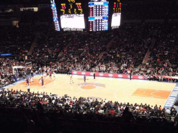 Madison Square Garden, section: 226, row: G, seat: 3