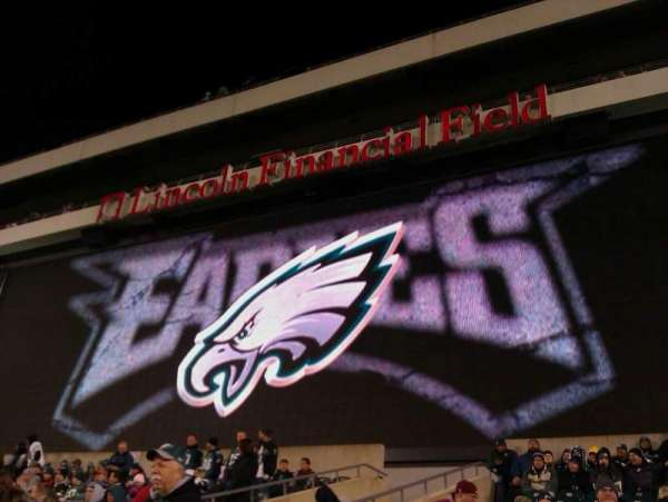 Lincoln Financial Field, section: 129, row: 22, seat: 5