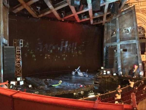 London Coliseum, section: Dress Circle, row: C, seat: 50