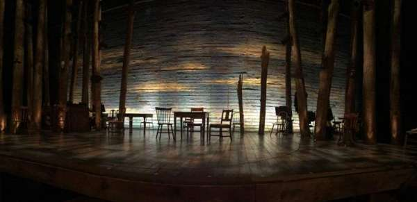 Gerald Schoenfeld Theatre, section: Orchestra C, row: B, seat: 110