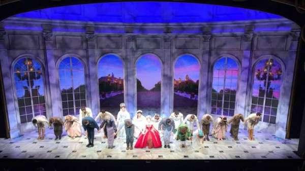 Broadhurst Theatre, section: Mezzanine, row: A, seat: 108