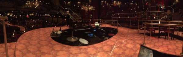 Imperial Theatre, section: Stage, row: SA, seat: 1