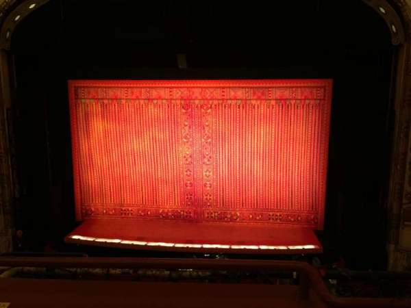 Cadillac Palace Theater, section: Loge C, row: B, seat: 320