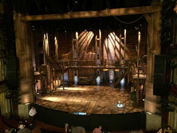CIBC Theatre, section: Mezzanine RC, row: A, seat: 314