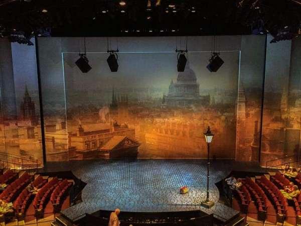 Vivian Beaumont Theater, section: Mezzanine, row: A, seat: 308