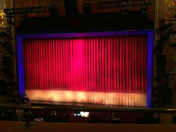 Longacre Theatre, section: Mezzanine C, row: B, seat: 101
