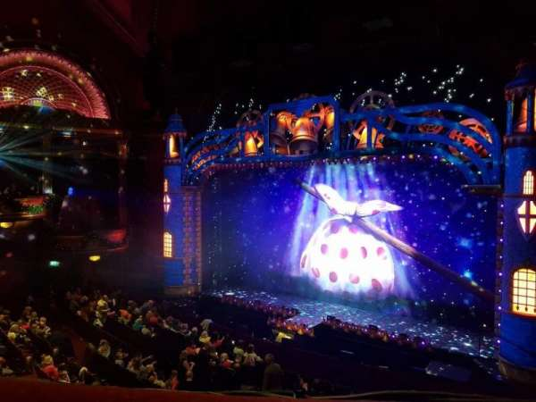 Mayflower Theatre, section: Dress Circle, row: A, seat: 7