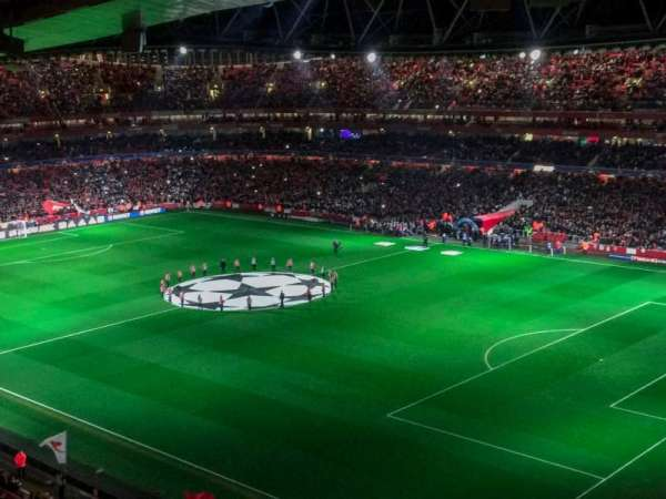 Emirates Stadium, section: 107, row: 17, seat: 455