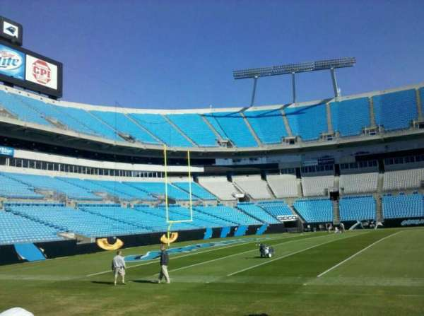 Bank of America Stadium, section: Field