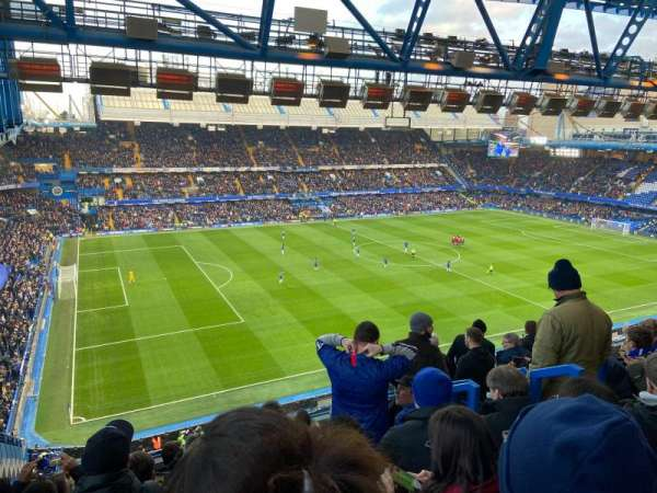 Stamford Bridge, section: West Stand Upper 8, row: 8, seat: 213