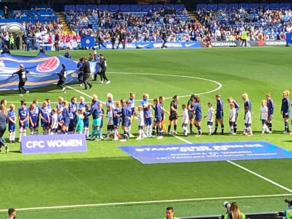 Stamford Bridge, section: West Stand Lower 6, row: 33, seat: 139