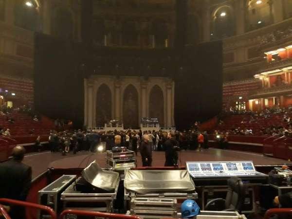 Royal Albert Hall, section: Stalls K, row: 2, seat: 55