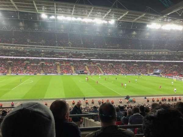 Wembley Stadium, section: 124, row: 40, seat: 41