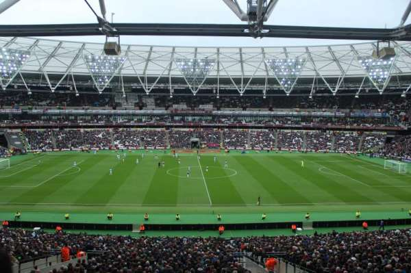 London Stadium, section: 236, row: 49, seat: 443