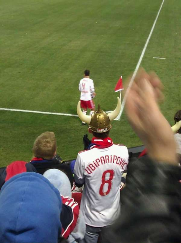 Red Bull Arena (New Jersey), section: 120, row: 1, seat: 6
