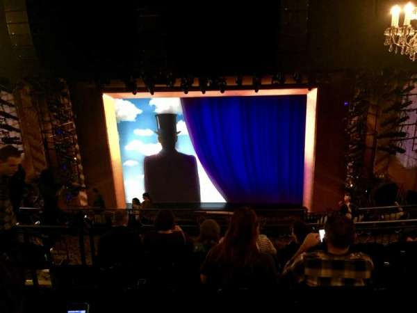 Lunt-Fontanne Theatre, section: Rear Mezzanine RC, row: G, seat: 108