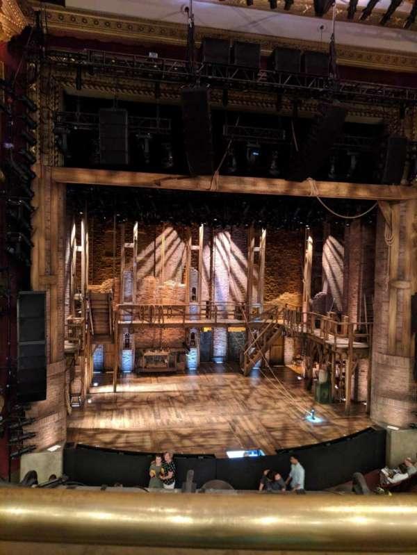 CIBC Theatre, section: Mezzanine LC, row: A, seat: 313