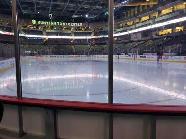 Huntington Center, section: 113, row: B, seat: 7