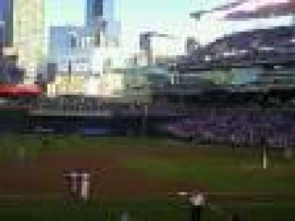 Target Field, section: 121, row: 4, seat: 12
