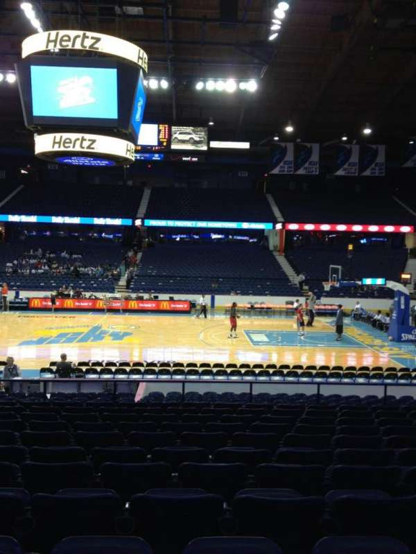 Allstate Arena, section: 102, row: M, seat: 19