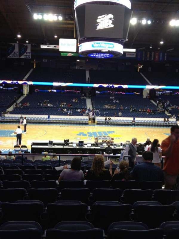 Allstate Arena, section: 111, row: K, seat: 4