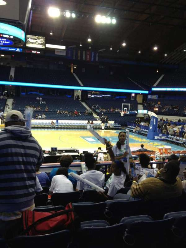 Allstate Arena, section: 110, row: G, seat: 26