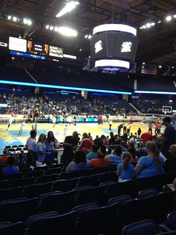 Allstate Arena, section: 104, row: K, seat: 10