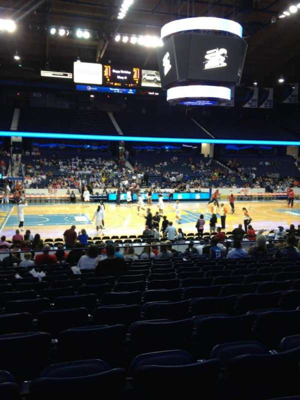 Allstate Arena, section: 103, row: N, seat: 23
