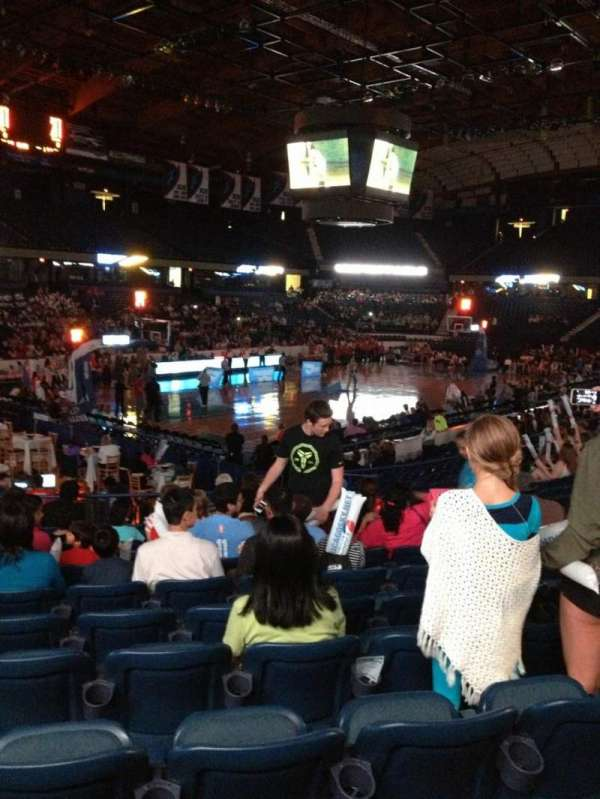 Allstate Arena, section: 105, row: P, seat: 6