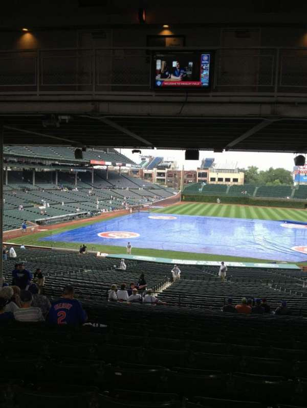 Wrigley Field, section: 228, row: 19, seat: 112