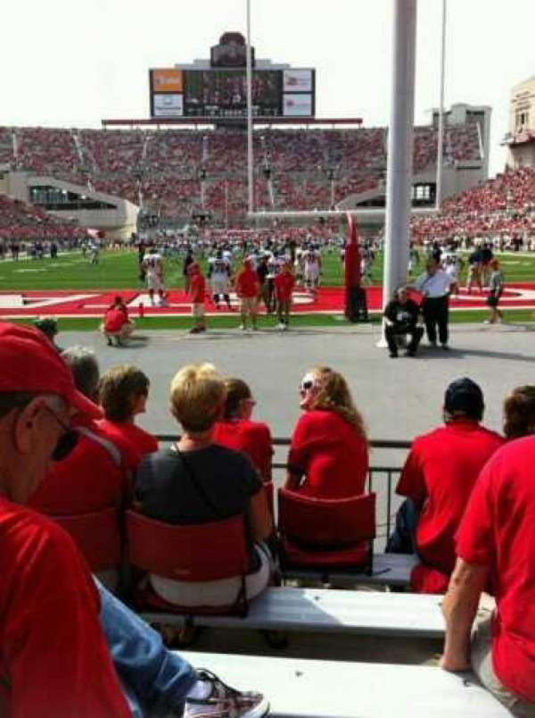 Ohio Stadium, section: 4AA, row: 6, seat: 3 and 4