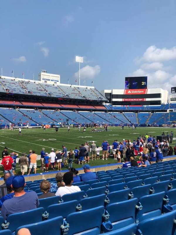 Highmark Stadium, section: 137, row: 12, seat: 17
