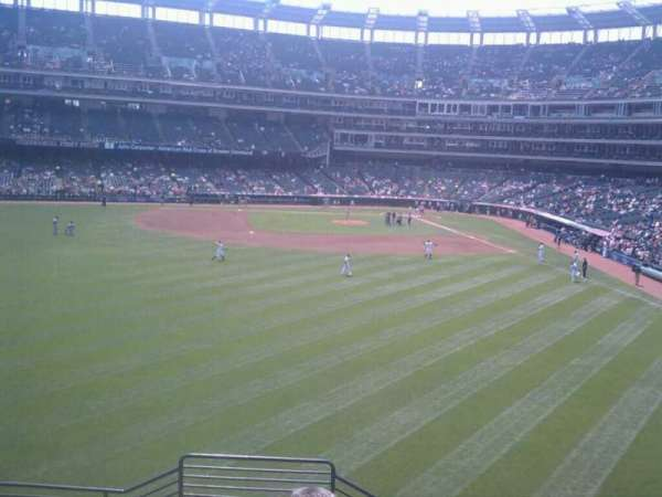 Progressive Field, section: 181, row: D, seat: 12