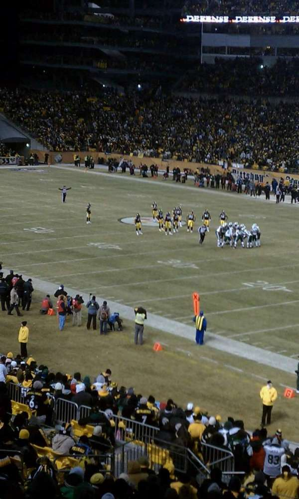 Heinz Field, section: 217, row: C, seat: 11