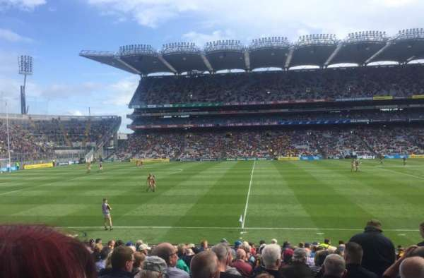 Croke Park, section: 333, row: V, seat: 12