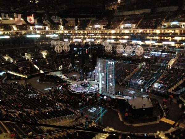 Staples Center, section: 316, row: 1, seat: 1