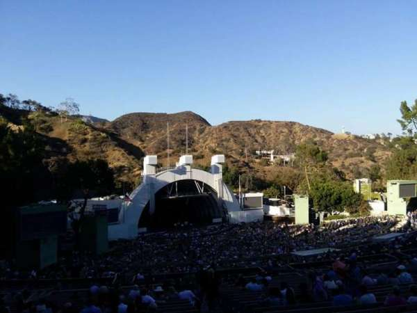 Hollywood Bowl, section: U2, row: 2, seat: 2