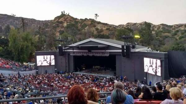 The Greek Theatre, section: South Terrace R3, row: S, seat: 14