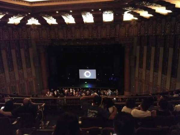 The Wiltern, section: Mezz Center Right, row: F, seat: 104