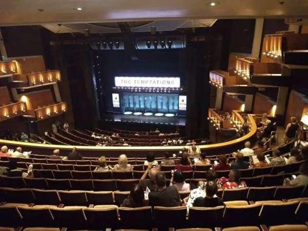 Ahmanson Theatre, section: Mezzanine , row: N, seat: 1