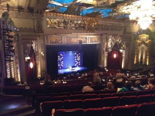 Hollywood Pantages Theatre, section: MEZZ LEFT, row: Q, seat: 25