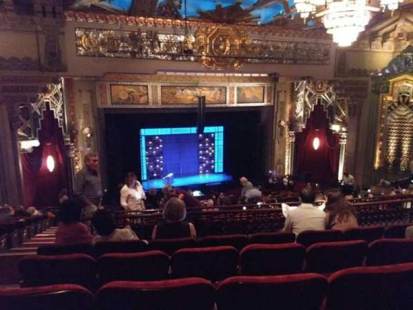 Hollywood Pantages Theatre, section: MEZZLC, row: N, seat: 314