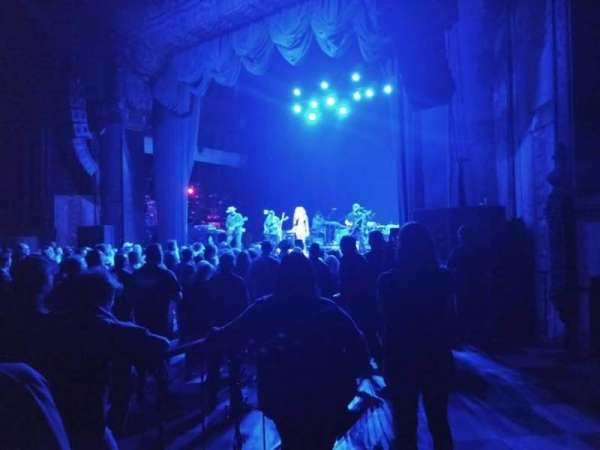 The Fonda Theatre, section: Floor, row: GA, seat: Right side of thea