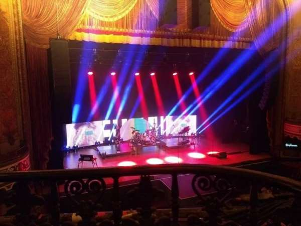 Orpheum Theatre (Los Angeles), section: Mezz, row: A, seat: 121