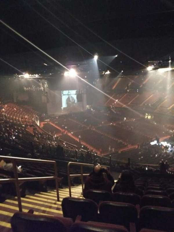 The Forum, section: 233, row: 13, seat: 1