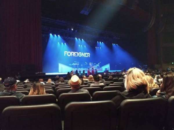 Microsoft Theater, section: Orchestra Left, row: P, seat: 505