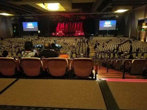 Pechanga Summit, section: E, row: R, seat: 201