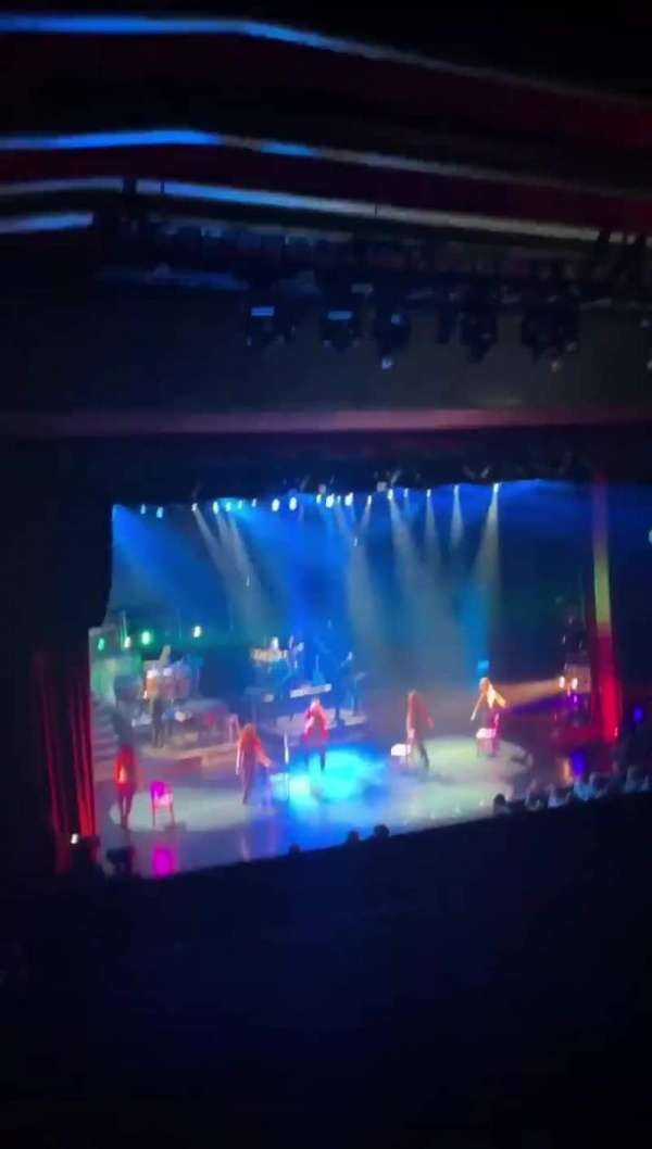 Donny & Marie Showroom, section: Balcony, row: A, seat: 3